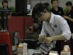 第四届咖啡嘉年华咖啡师风采(一)